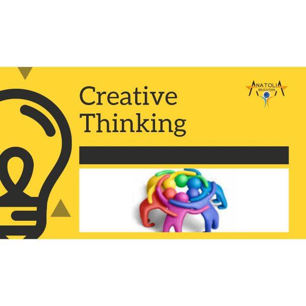 Creative Thinking at Schools