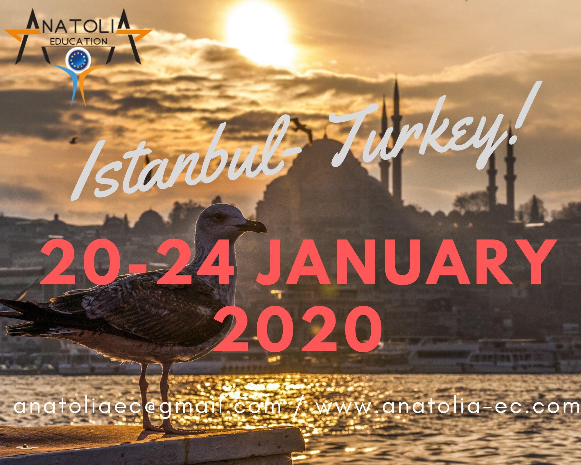 20-24 January 2020 - Istanbul, TURKEY
